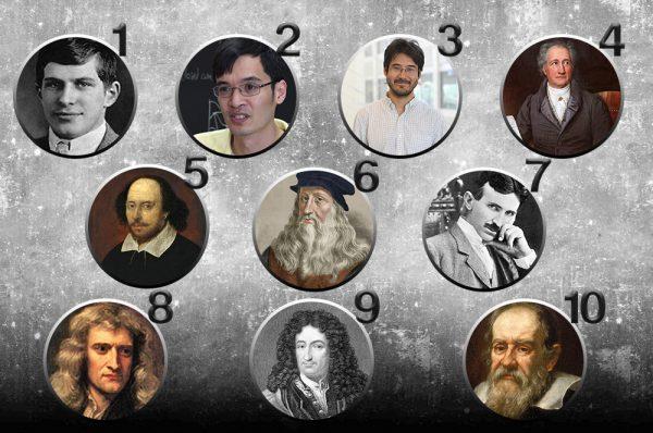 Yüksek IQ'ları ile Dünya Tarihinin Gördüğü En Büyük 21 Dâhi