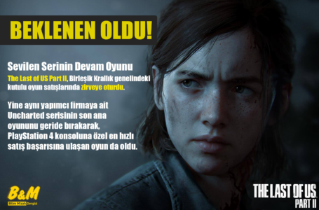 The Last of Us Part 2 Satışlara Rekorla Başladı!